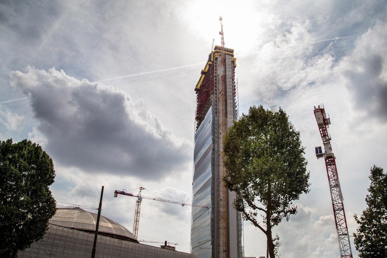 Torre Isozaki V.le Boezio - Milano