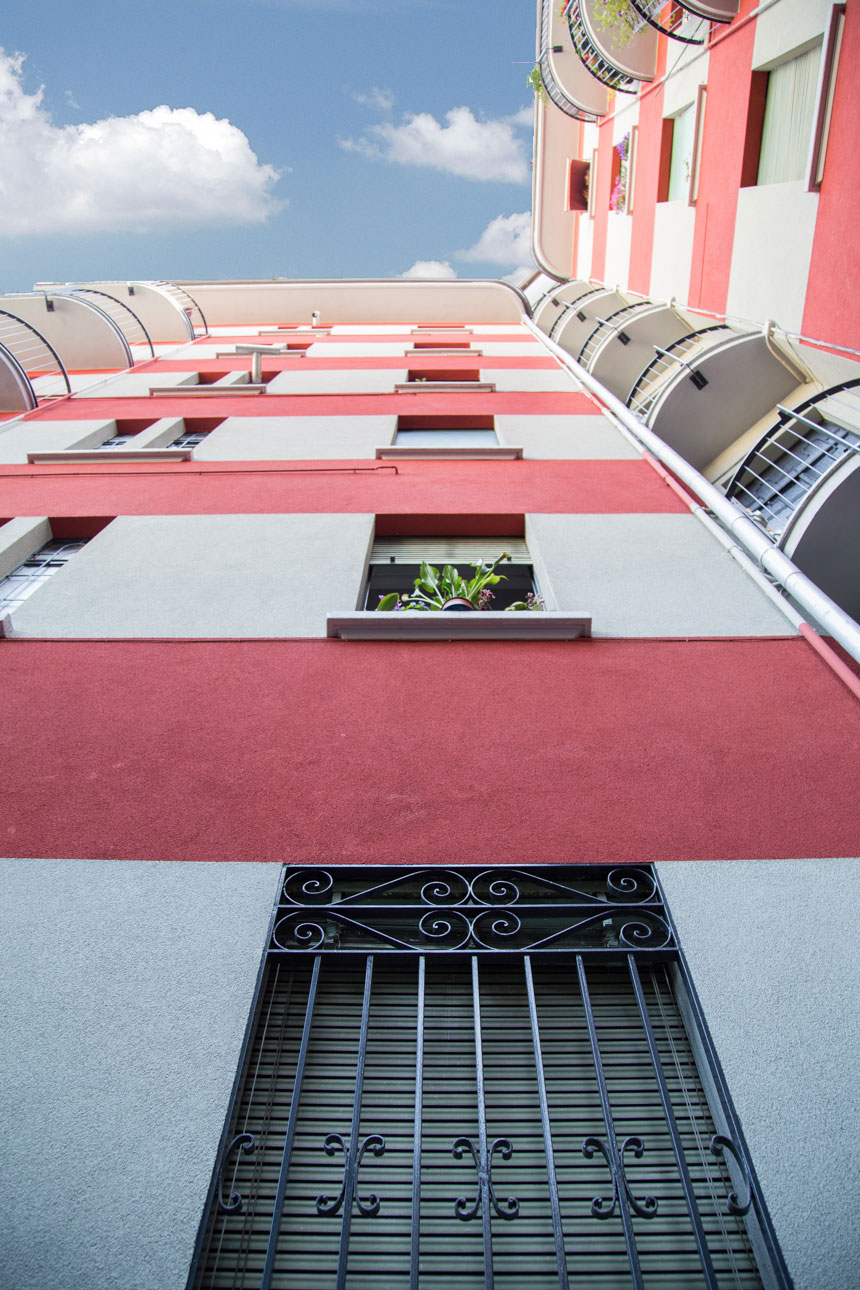 Condominio Via Ingegnoli Milano
